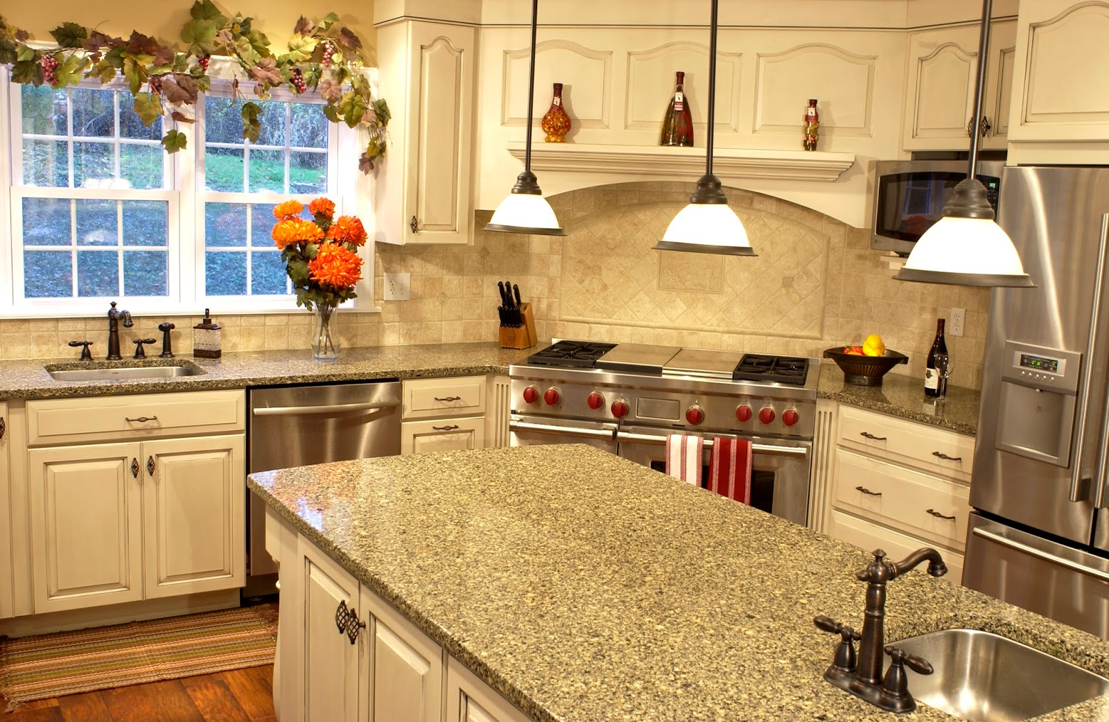Foundation Dezin & Decor...: Kitchen Counter Tops Designs