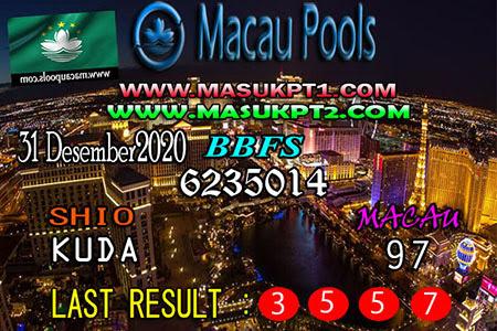 Prediksi Togel Macau Pools Kamis 31 Desember 2020