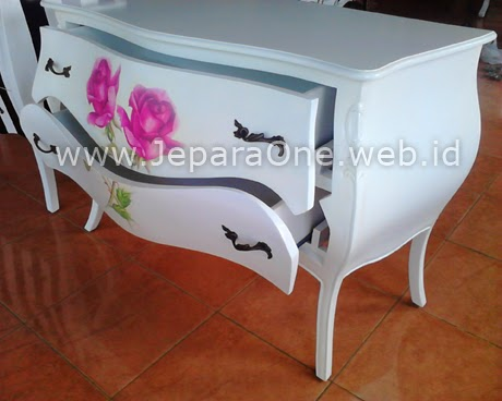 Double Pink Rose - filling cabinet JeparaOne