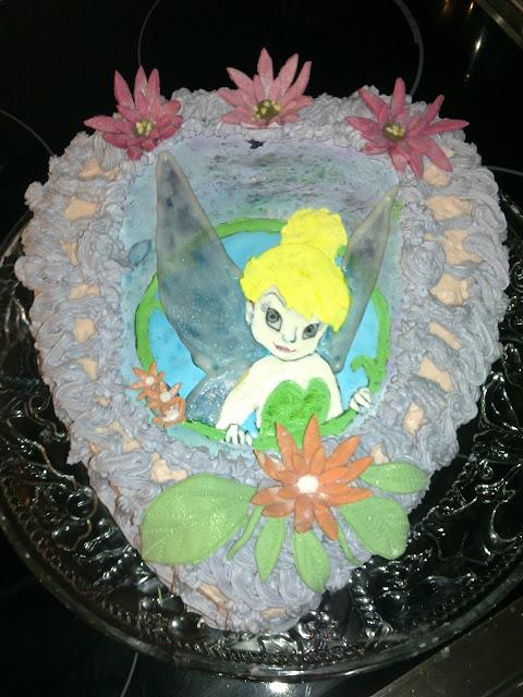 Helina keiju kakku