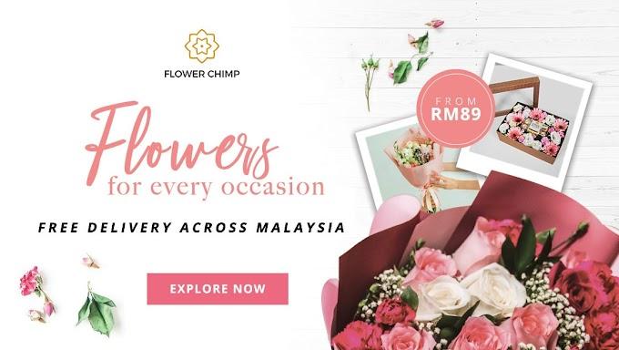 Raikan hari bahagia dengan Flower Chimp bermula dari RM89!