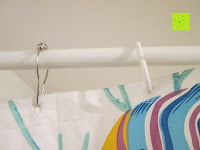 Duschvorhang: LIHAO 12x Duschringe Duschvorhangringe Edelstahl Aufhängeringe mit Gleitsystem