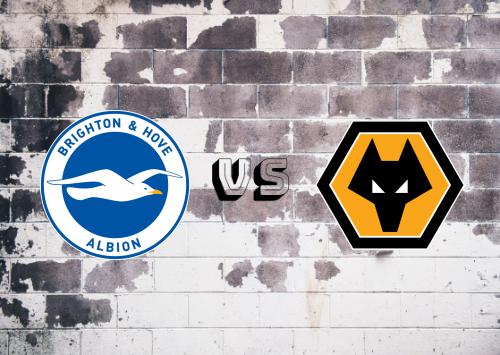 Brighton & Hove Albion vs Wolverhampton Wanderers  Resumen