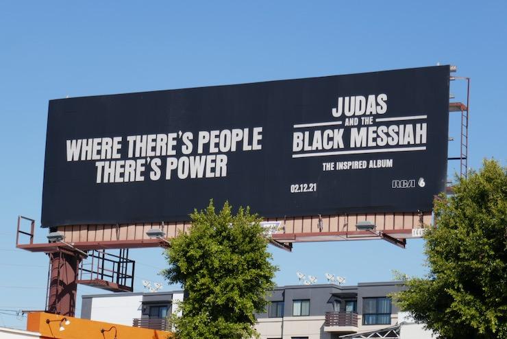 Judas and Black Messiah album billboard