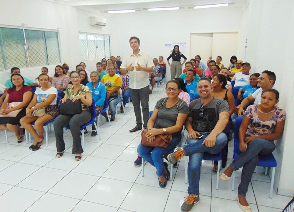 Servidores Da Saúde Participam De Palestra Motivacional E