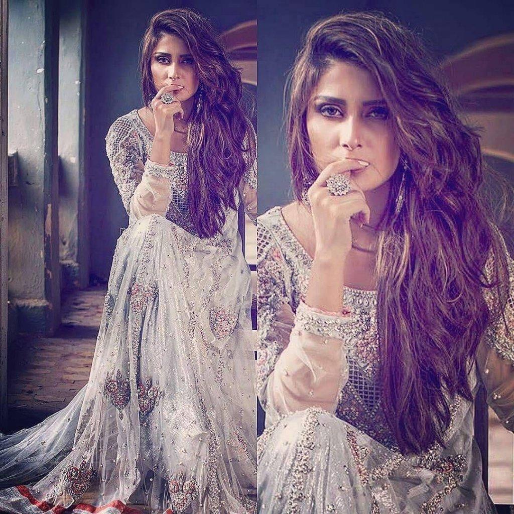 Ayeza Khan Giving Stunning Bridal Goals in her Latest Photoshoot