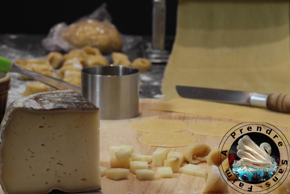 Tortellinis au fromage fait maison (pas à pas en photos)