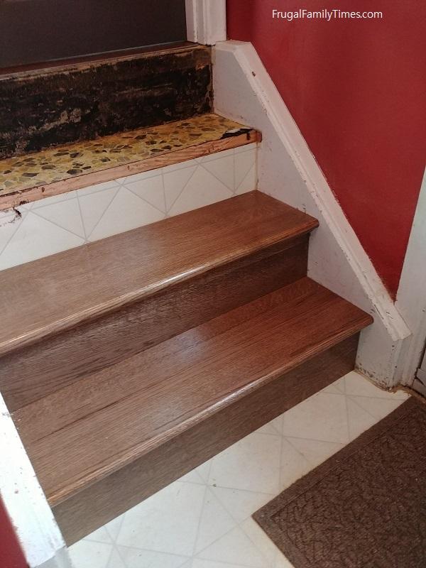 Retrofit stair treads