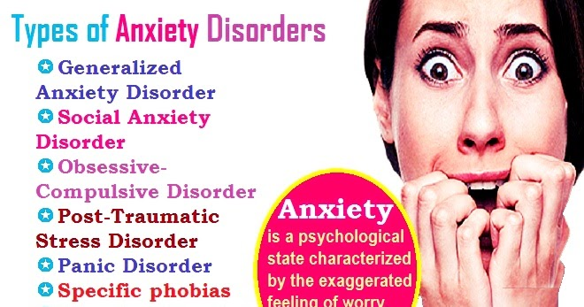 What are the Most Common Types of Anxiety Disorders? - The ...