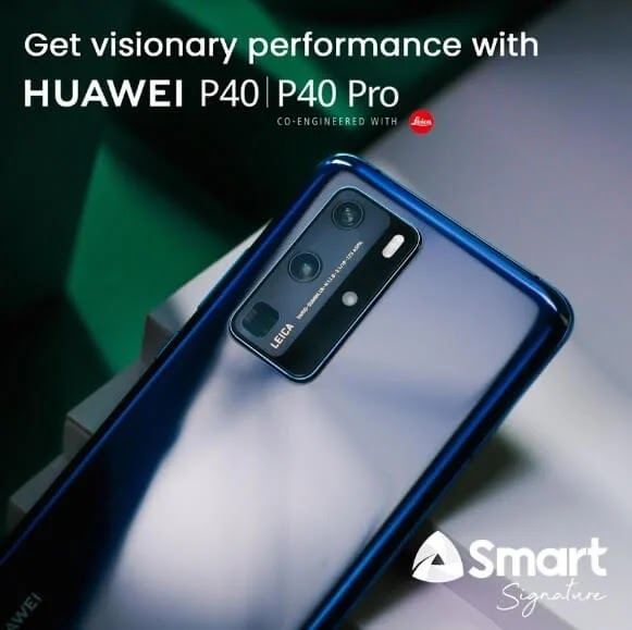 Huawei P40 Now Available at Smart; Yours at Php2,399/mo with a Php4,210 Cashout