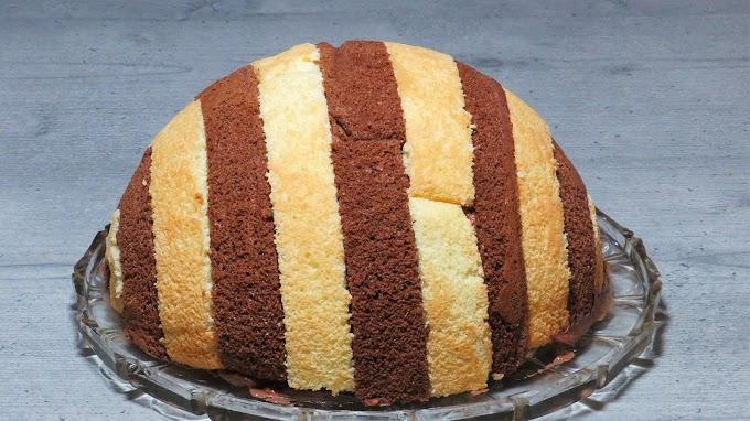 Tort Mușuroi cu Cremă de Ciocolată