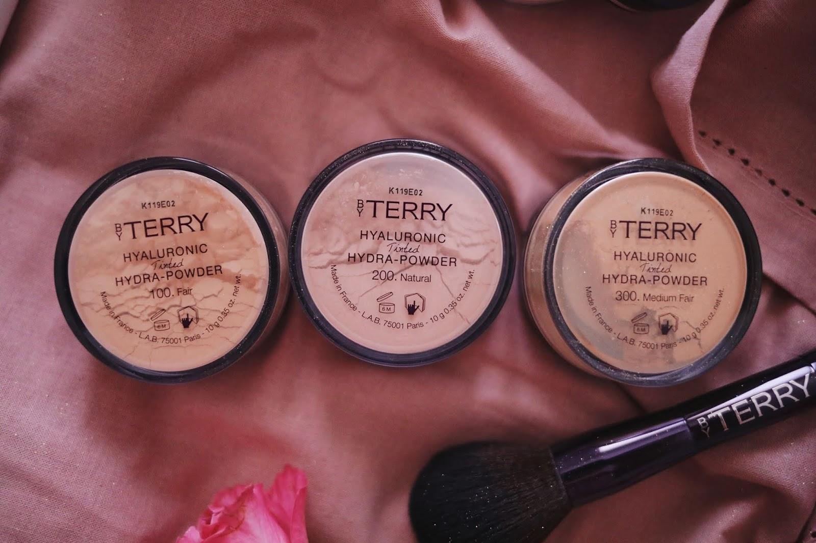BY TERRY , HYALURONIC POWDER , HYALURONIC TINTED POWEDER ,rosemademoiselle, rose mademoiselle , paris , blog beauté