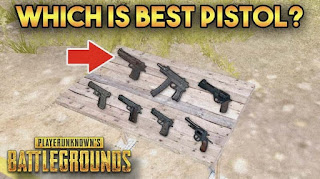 Which is the Best Pistol in PUBG Mobile