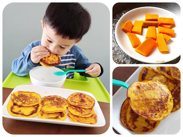 【食譜分享】懶人料理茶點!好味南瓜燕麥Pancake!