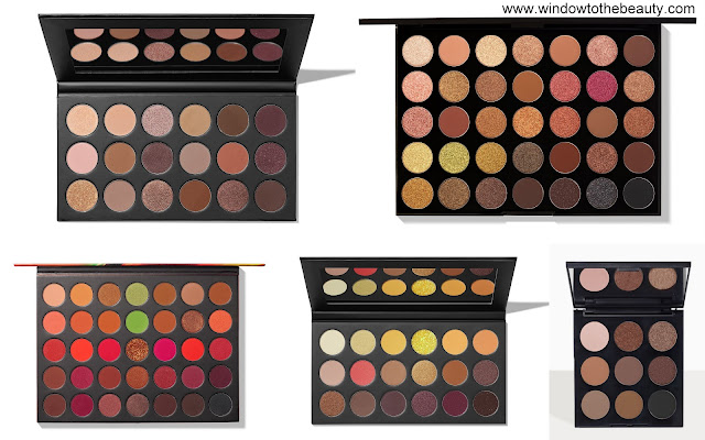 Morphe Neutral Eyeshadow Palettes