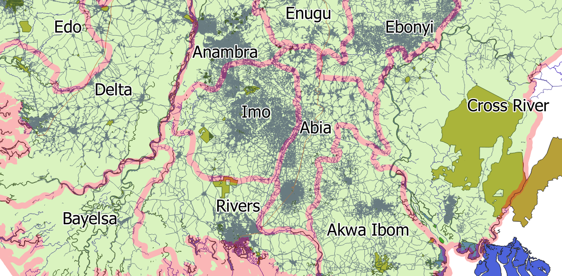 Geospatial Solutions Expert: Street-level Map of Nigeria Cities on state climate, state topography, state of al counties, state populations in order, state names, state of south dakota website, state list, state population density, state puzzle, state capitals, state function, state time, state city, state of louisiana, state of alabama, state of obesity, state initials, state parks in north alabama, state newspaper, state flag,
