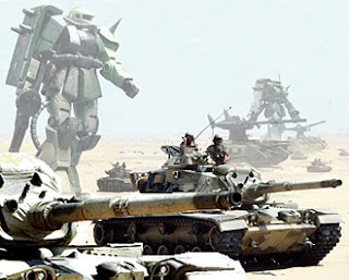 Tanks and Zakus