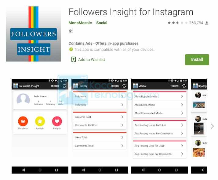 11 Cara Melihat Stalker Akun Instagram Tanpa & Dengan Aplikasi ...