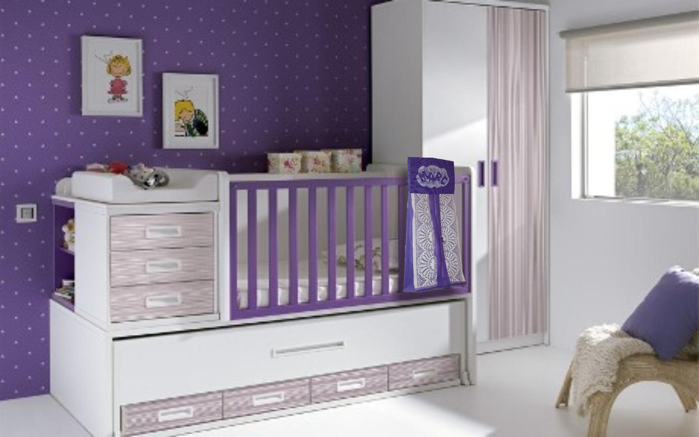 Habitación de bebe con portapañales
