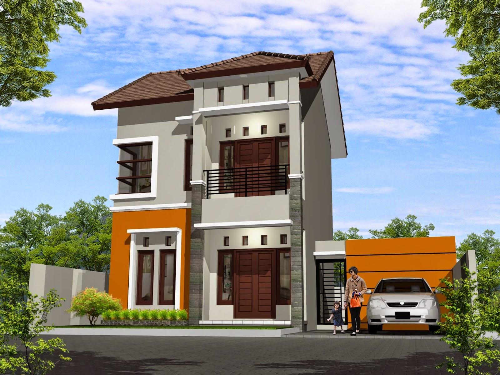 Berbagai Desain Rumah 2 Lantai Gambar Gambar Desain Rumah