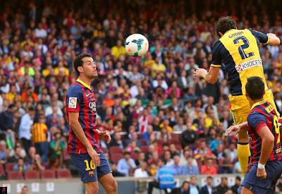 هدف جودين ضد برشلونة
