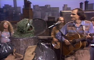 Oscar and James Taylor sing That Grouchy Face. Sesame Street Best of Friends