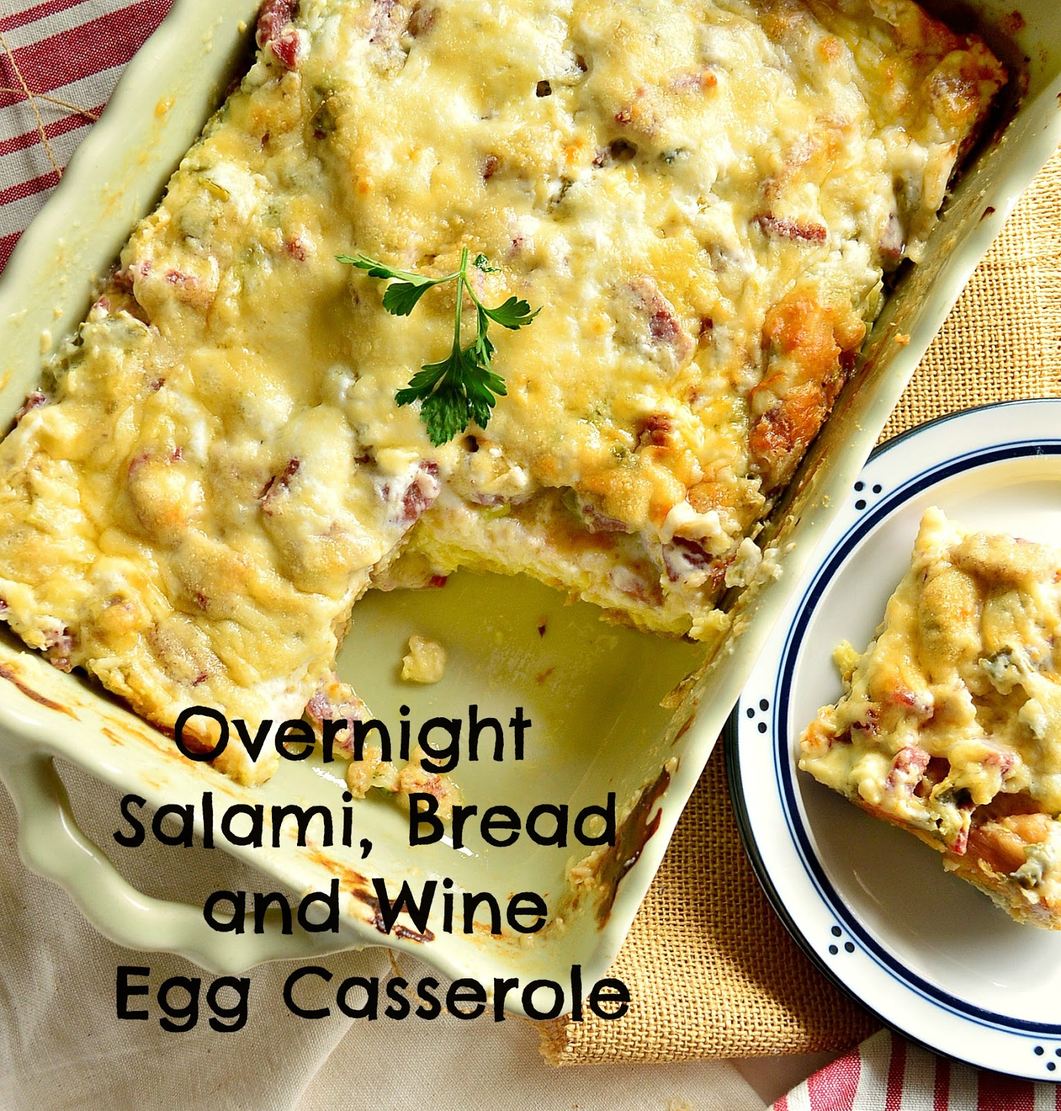 This Is How I Cook: Overnight Egg Casserole With Salami