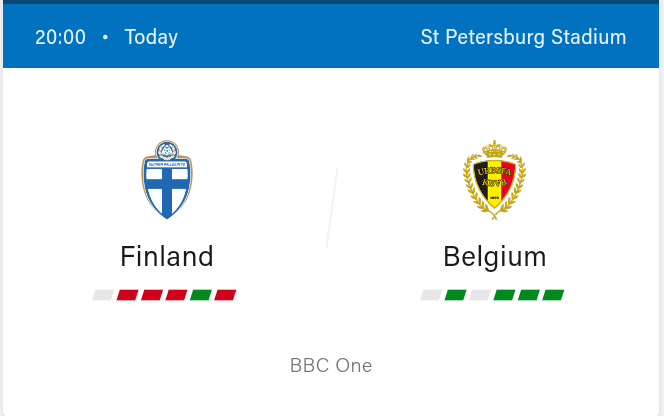 Finland vs Belgium Preview and Predictions 2021