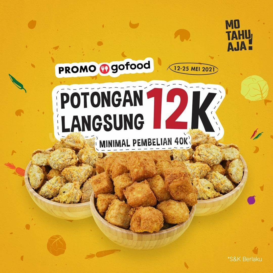 Promo MO TAHU AJA LEBARAN - DISKON Potongan Langsung Rp. 12.000