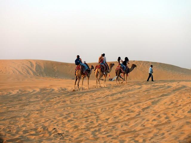 qué hacer en el desierto de Dubai