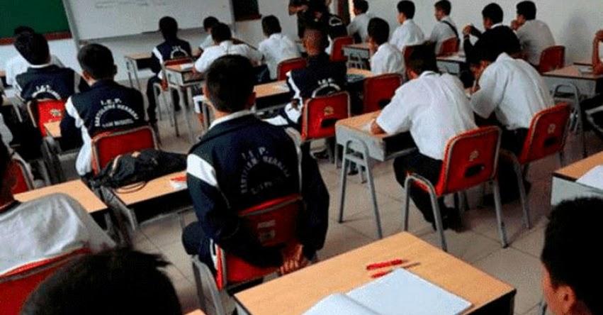 Cerca de 10 mil escolares repetirán de año en Arequipa, informó la GREA