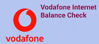 How to check Vodafone internet balance