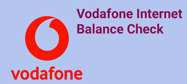 How to Check Vodafone Net Balance | Through USSD codes, SMS and App