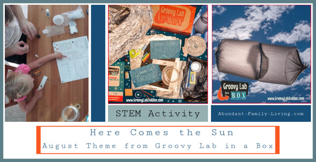 Here Comes the Sun from Groovy Lab in a Box