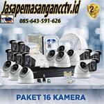 Paket Pasang CCTV 16 Kamera