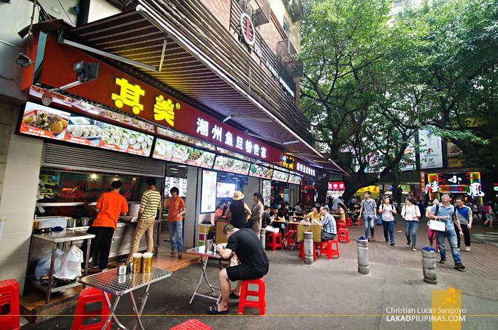Beijing Lu Hawkers Guangzhou China