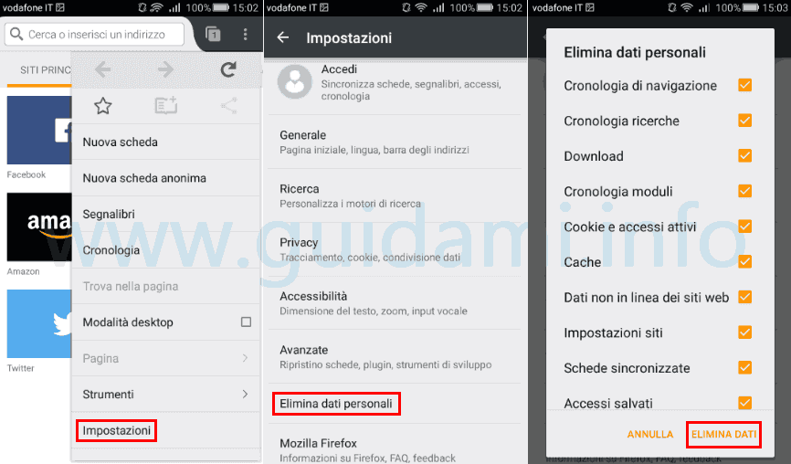 firefox per android