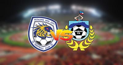 Live Streaming PJ City vs Sabah Liga Super 12.9.2020