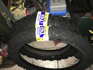 Michelin T63 für die DRZ