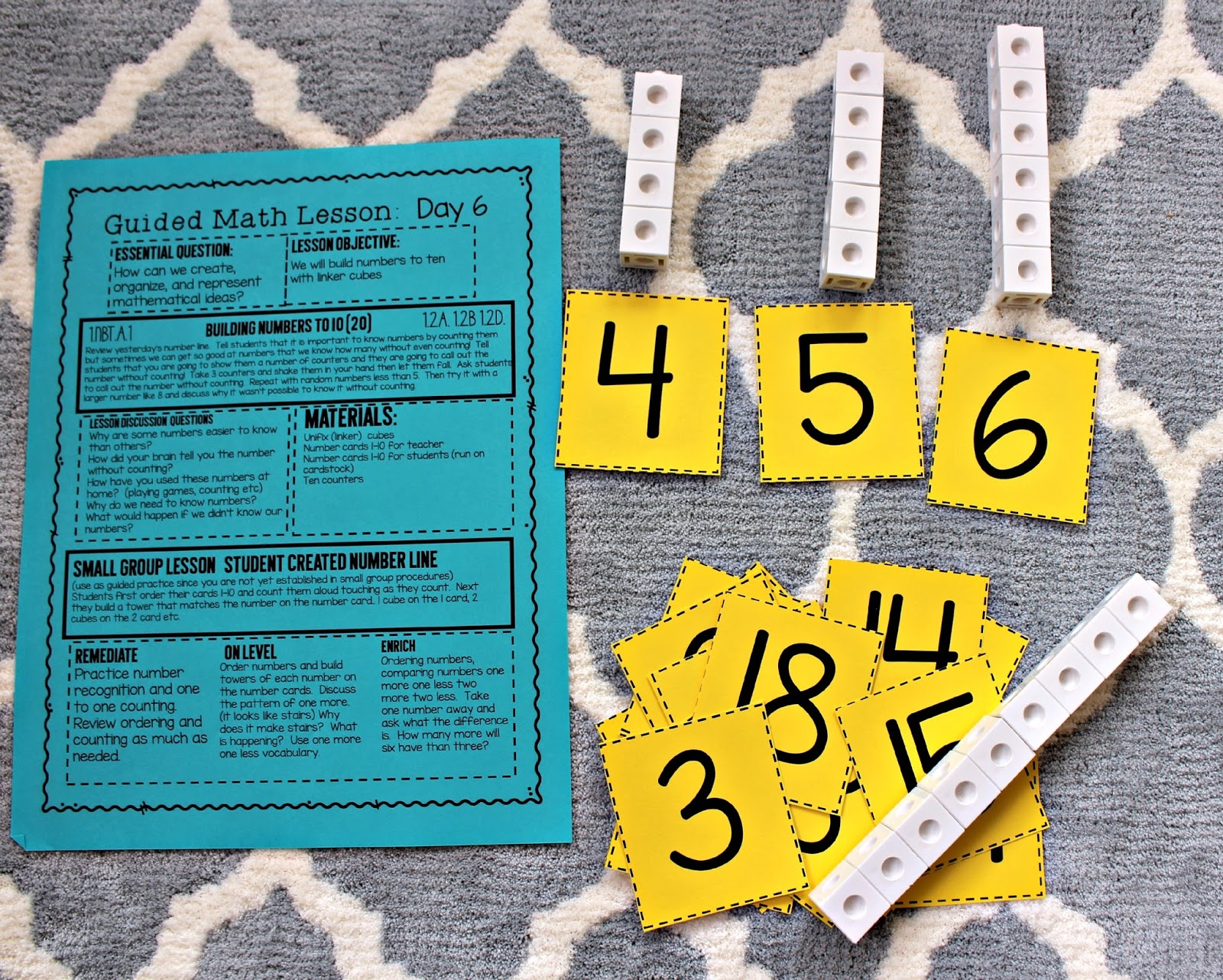 Number Sense Lesson Plans and Materials   Tunstall s Teaching Tidbits Number Sense Lesson Plans and Materials