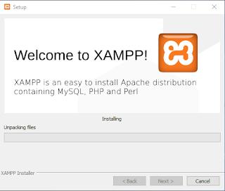 cara instal xampp terbaru