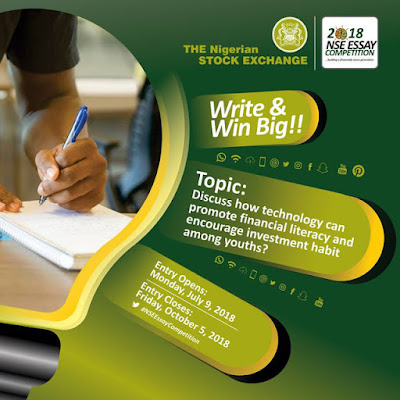 2018 Nigeria Stock Exchange Essay Competition.