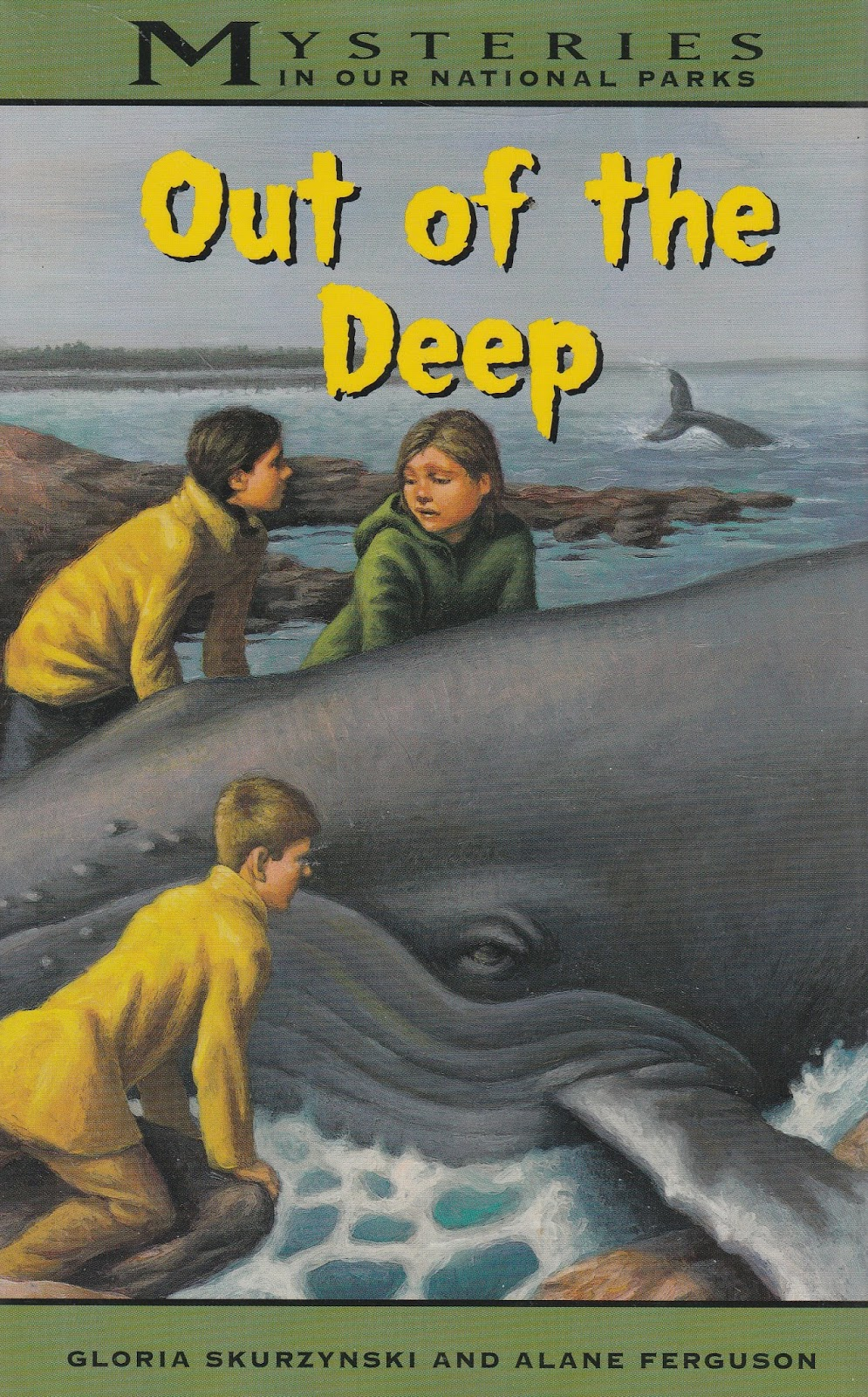 In National Parks Mysteries #10, Out of the Deep, the Landons and their  foster child, Bindy, arrive in Acadia National Park. Olivia's latest task  is to ...