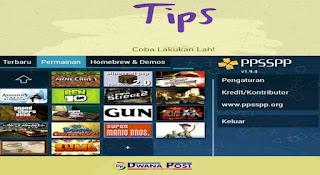 Tips sukses Download Semua Game PPSSPP Terbaik serta Terbaru Via Hp, Laptop dan Pc