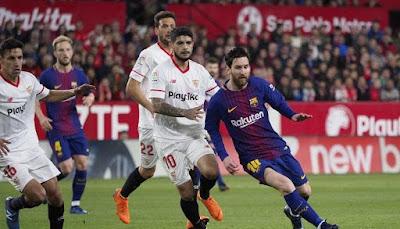 إشبيليه ضد برشلونة.. اليوم البارسا يسعى لمواصلة الانتصارات في الدوري الإسباني