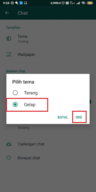 Cara Mengubah Gelembung Whatsapp - Tanpa Aplikasi 5