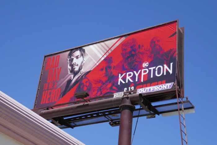 DC Krypton season 2 billboard