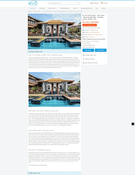 Theme blogspot Du lịch Tour chuyên nghiệp