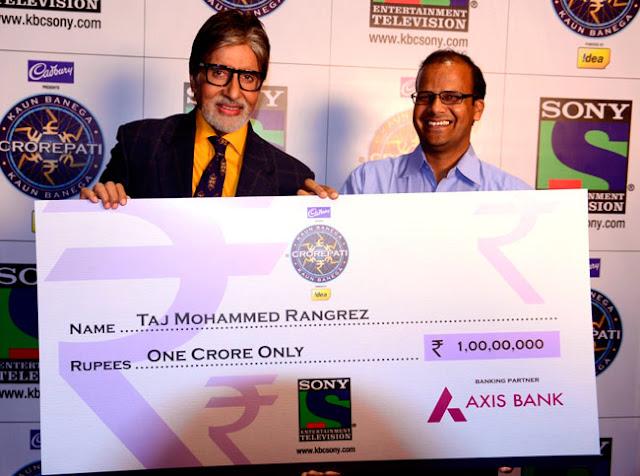 kbc prize winner
