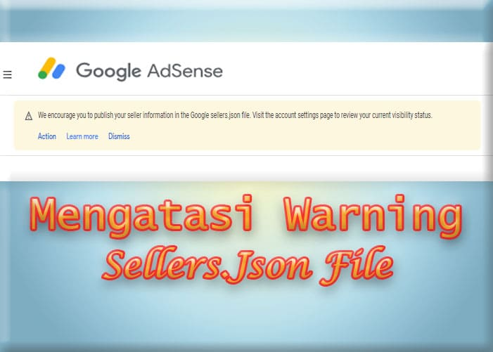 Cara Mengatasi Warning Sellers.Json File